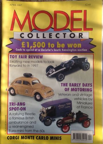 ORIGINAL MODEL COLLECTOR MAGAZINE April 1997